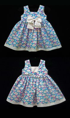 Vestido 12/18 meses _______________baby - infant - toddler - kids - clothes for girls - - - https://www.facebook.com/dona.fada.moda.para.fadinhas/