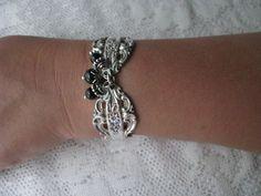 Spoon Bracelet Spoon Jewelry Chambord by Reed by TheBeadLadiesII, $36.00