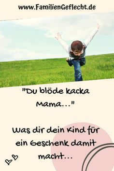 "Warum dein Kind dich blöde kacka Mama nennen kannThanks unverbogenkind for this post.Your child calls you ""stupid kacka Mama"", you find that disrespectful, brazen and cheeky? Gentle Parenting, Kids And Parenting, Parenting Hacks, Feeling Stressed, How Are You Feeling, You Stupid, Psychology Books, Positive Discipline, Ways To Communicate"