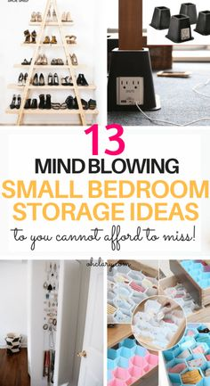 48 Trendy bedroom storage ideas for small spaces closet ikea hacks Diy Storage Ideas For Small Bedrooms, Small Bedroom Storage, Small Room Bedroom, Closet Bedroom, Trendy Bedroom, Bedroom Boys, Boys Closet, Ikea Closet, Ikea Bedroom