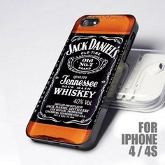 Jack Daniels iPhone case - I actually already own this haha <3