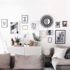 Get inspired by these interior design trends, perfect for your home decor! Home Living Room, Living Room Decor, Bedroom Decor, Wall Decor, Wall Art, Room Inspiration, Interior Inspiration, Home Interior, Interior Design