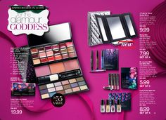 Looking for a makeup gift set? Avon has plenty to choose from like the Color Fold-up Palette, Merry Mini Glimmersticks Eye Liner Set, Be Jeweled Mini Lip Gloss Set, or the Party Polish Mini Set. Shop for these sets online at http://eseagren.avonrepresentative.com/