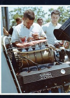 Ohio George Montgomery and his Supercharged Ford 427 Sohc 33 Willys A/GS Gasser