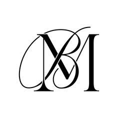B Letter Logo, Monogram Letters, Monogram Initials, Wedding Logos, Monogram Wedding, Wedding Venues, Dog Walking Flyer, Mb Logo, Logo Monogramme
