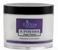EZ Flow A Polymer Clear Powder - 4 oz.