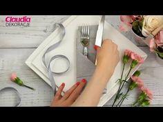 Składanie serwetek - 4 pomysły na wigilijny stół - Claudia