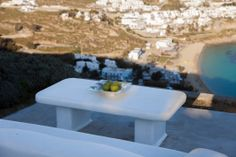 Mykonos Villas, Famous Beaches, First Kitchen, Greece Travel, One Bedroom, Small Bathroom, Apartments, Entrance, Middle