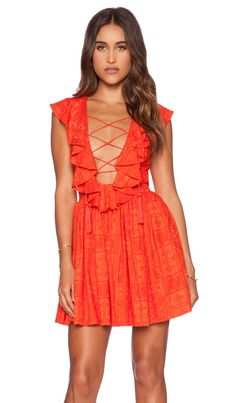 THE JETSET DIARIES Forever Dress in Mandarin (Love this, but I would be arrested...)