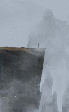"""The Summoner Jakub Rozalski.  A little scary to be """"whimsy"""", but really cool."""