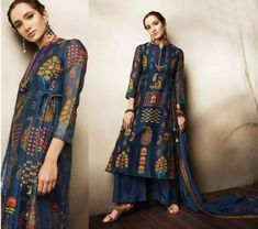 Salwar kameez Shalwar Indian Punjabi Suit Bollywood Designer Ethnic Party Dress #PunjabiLadiesSuits