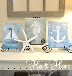 Create Professional Looking Sea Watercolor Canvases with Free Clip Art