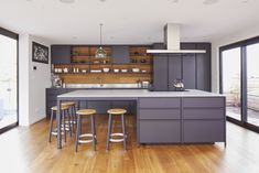IMO KXN® Steel Kitchen Kitchen Showroom, Hobbs, Contemporary, Living Room, Kitchen Ideas, Table, Kitchens, House Ideas, David