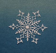 Eagle Feathers: free snowflake patterns!