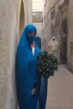 Issey Miyake Pleats Please in Morocco, photographed by Yuriko Takagi