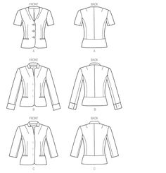 V9009 | Misses' Jacket | New Sewing Patterns | Vogue Patterns