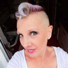 Mohawks, Shaved Sides, Undercut, Cut And Color, Shaving, Haircuts, Short Hair Styles, Hairstyle, Elegant