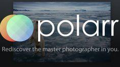 Polarr (Web) - Best online photo editor.