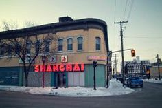 The recently closed Shanghai restaurant.I went there with my family for more then 30 years. It's decor went from fabulous to old-fashioned to retro-fab without ever exiting it's amazing 1950s time bubble. Bryan Scott, Stuck in the middle - Winnipeg Free Press,  Website: http://winnipeglovehate.com/  Daily photos from Winnipeg, the most beautiful, most repulsive city in the world through the photography of Bryan Scott.
