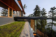 Cliff House | Altius Architecture Inc; Photo: Jonathan Savoie  | Archinect