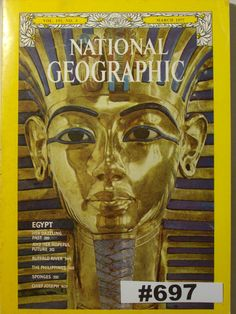 Egypt March 1977 National Geographic Magazine Egypt Her Dazzling Past Egypt Her…