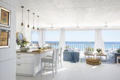 Beach House Tour, Dream Beach Houses, Beach House Decor, Home Decor, Hamptons Style Decor, Casa Patio, Beach House Kitchens, House Tours, Spain Images