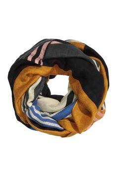 Sciarpa ad anello misto lana
