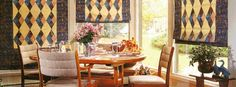 Roman Shade Hardware, How to Make Roman Shades, Top-Down Window Treatments | Terrell Designs   Found her actual site!!! :-)