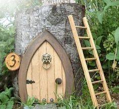 Fairy / gnome door