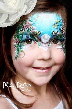 (96) Daizy Design Face Painting
