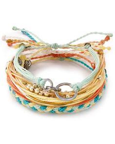 Pura Vida Bracelets Beach BBQ Bracelets, Set of 6  Bloomingdale's