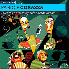 Ilustración. Diseño y color de FABIO P. CORAZZA. Talento en síntesis y color desde Brasil.  Leer más: http://www.colectivobicicleta.com/2013/05/Ilustracion-de-FABIO-P-CORAZZA.html#ixzz2TJGPXRkl