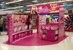 Ambientación Barbie Hipermercado