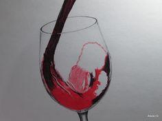Copa de vino (bolígrafos)