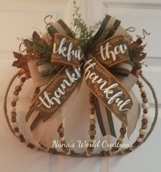 Dollar Tree Pumpkins, Dollar Tree Fall, Dollar Tree Crafts, Pumpkin Wreath, Wreath Fall, Easy Fall Crafts, Fall Diy, Metal Pumpkins, Fall Pumpkins