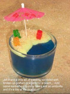 Beach themed snack