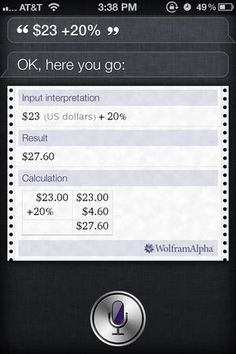 40 iPhone tips and tricks everyone should know - Make Siri your tip calculator - CSMonitor.com