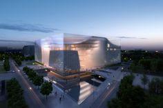 Jinan Contemporary Art Museum Proposal / United Design Group Jinan Contemporary…