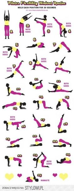 Pilates Flexibility Workout Routine