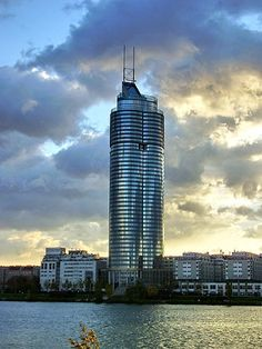 The Millennium Tower is located at Handelskai 94-96 in the 20th district of Brigittenau in Vienna, is the tallest building and 3rd tallest structure in Austria.