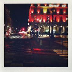 Rivoli/Palais royal by night