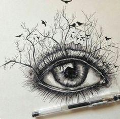 Creative Eye Drawing