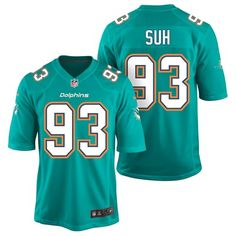 Miami Dolphins Home Game Jersey - Ndamukong Suh