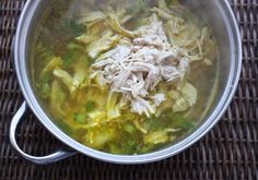 chicken rice soup with turmeric (low fodmap, gluten free, dairy free)