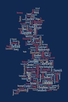 GB CIty Map