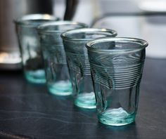 Crumpled Cup - Glass $16.50 AUD