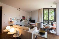 Salón | Proyecto de reforma Pedralbes | Standal #diseño #interiores #reformas #pisos #salón #decoración #mobiliario #lamparas