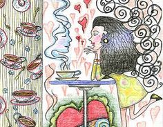 """Check out new work on my @Behance portfolio: """"I love coffee. coffee loves me"""" http://be.net/gallery/43495943/I-love-coffee-coffee-loves-me"""