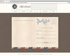 Tré Seals—Self Branding on Behance