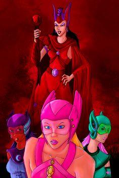 Feel the power of the Dark Stone! ✨Princess Gwenevere and the Jewel Riders✨   #FanArtFriday #FlashbackFriday #FridayFeeling #Halloween #villain #fanart